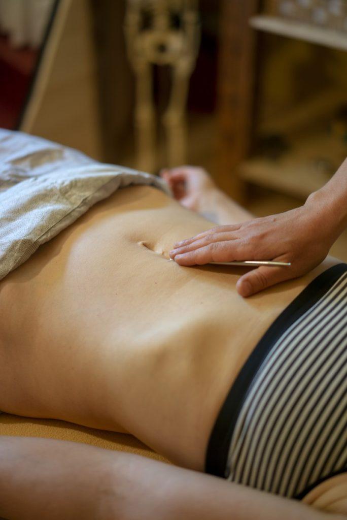 Akupunkturmeridianmassage